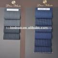 Customized plaid stripe 100%merino wool woven suit fabric
