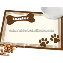 dog food placemats with printing image