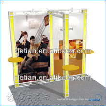 Exposition modulaire de carton pour le salon