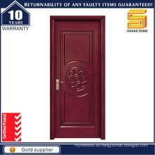 Puerta de entrada de nogal negro Puerta de entrada de madera interior