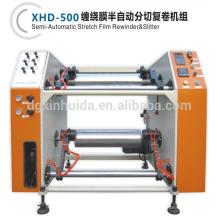 stretch film Slitting/rewinder machinery