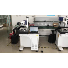Non-metal Materials Marking Desktop Co2 Galvo Head Metal Tube Glass Tube 30W 60W Laser Marking Machine