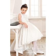 Conceptions d'habillement pour les filles scoop décolleté tissu en coton sans manche pour les robes de robes de robes filles ED769