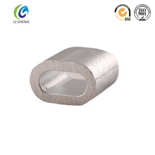 Manchon ovale en alliage à cordon alliage en aluminium