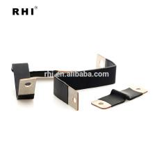 High conductivty fire-retardant flexible insulated copper busbars