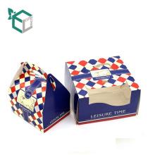 Custom printed food grade material take away birthday paper packaging cake box