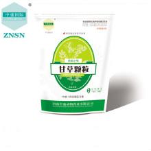 Erva natural chinesa raiz de alcaçuz seco, medicamentos veterinários para doenças respiratórias