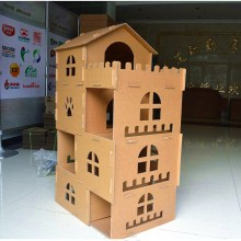 Castle Design Cat PlayHouse