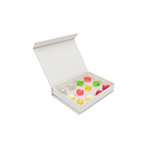 Chocolate plastic insert blister packaging tray