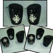 New ceramic salt shaker with xmas artwork for BS12056D