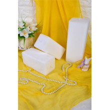Smooth Surface Square Gift Candle