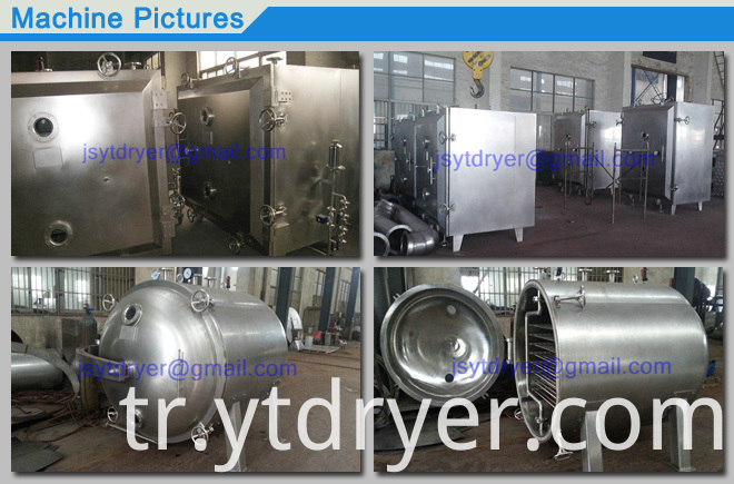 Square/Round Vacuum Drying Machine