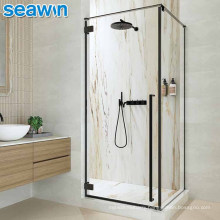 Seawin Bathroom New Ideas Complete 2 Sided Parts Black Glass Cabin Room Shower Enclosure