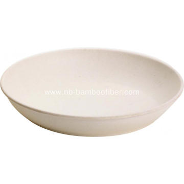 Small Bamboo Fiber Fruit Platter