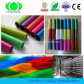 Electrostatic Powder coating with polyester resin RAL color