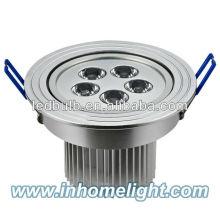 Aluminum 5W led ceiling light led ceiling spotlight
