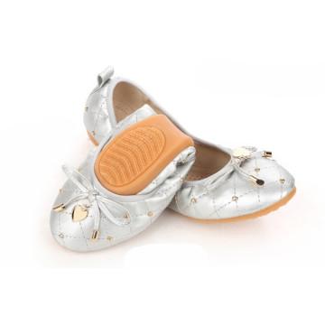 Faltbare Ballerina Schuhe Frauen Schuhe