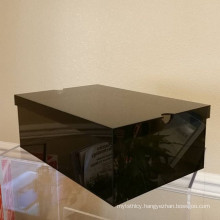 New Black Popular Acrylic Box for Shoes Advertising
