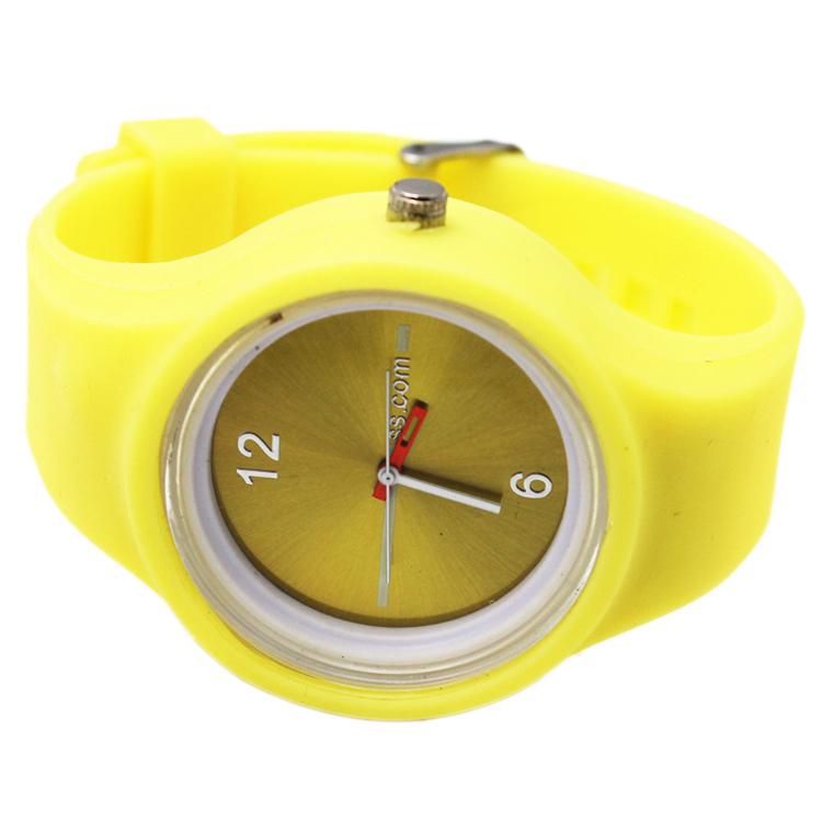 Kid Quartz Waterproof Watch Fasion Silicone Colorful