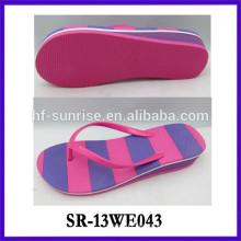 Ladies sexy flip flops eva sheets for slipper ladies EVA beach flip flops
