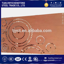 Corten Uma Placa de Aço Resistente à Placa 09CuPCrNi-A 2.0mm