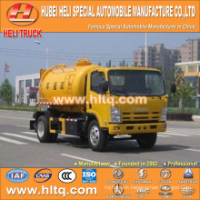 Japan technology 4x2 5000L pipeline dredging vehicle 190hp Japan quality