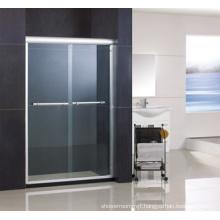 Aluminum Double Sliding Shower Door Ha420