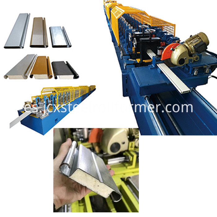 pu shutter door machine