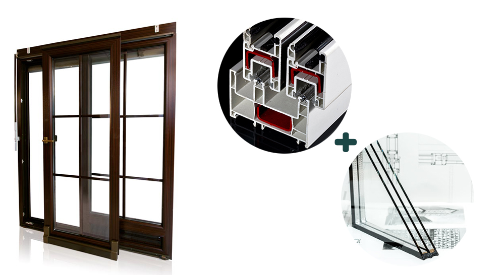 80mm sliding window