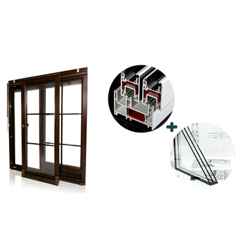 Günstige Extrusion UPVC Windows-Profil