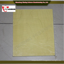 Gold supplier China 1.2X2.0 plaque militaire d'armure dure