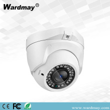 Keamanan 2.0MP CCTV Surveillance IR Dome IP Camera