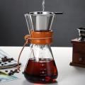 Coffee Pot Borosilicate Glass Pour Over Coffee Maker