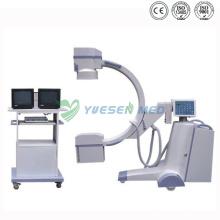 Equipo médico de rayos X de brazo en C de alta frecuencia móvil Ysx-C35
