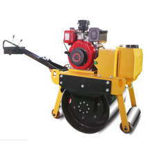 China diesel road roller hand held hydro static double drum small mini road roller