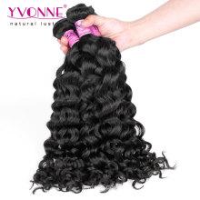 Italienische lockige Jungfrau Remy malaysisches Haar