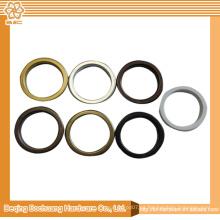Buena calidad nuevos anillos de ojal de diseño para las cortinas
