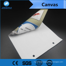 High printing performance 260gsm matt polyester art canvas for Displays