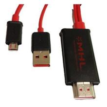 Кабель-адаптер Samsung S2 с микро-USB / Mhl-HDMI (YLS-01)