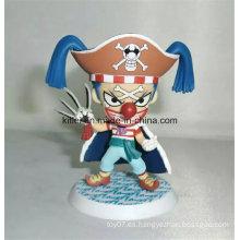 Personalizada figura de acción de plástico de venta caliente ICTI de dibujos animados de Navidad de juguete