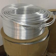Tubo en espiral de aluminio para la bobina del evaporador del refrigerador