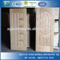 Natürliche Eschenfurnier Geformte Tür