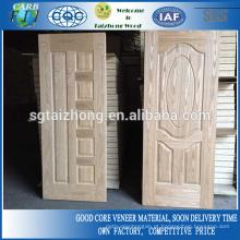 Porta Moldada de Folha de Cinza Natural