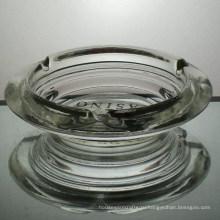 Оптовые стеклянные пепельницы с логотипом, печать на дне