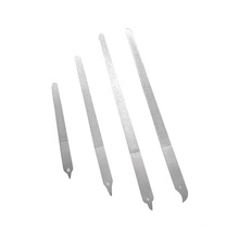 """Double Sides 6in 7"""" Stainless Steel Finger Nail Files Long Metal nail file"""