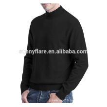 Pull tricoté en cachemire Mink Fit pour hommes