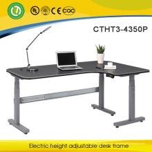 3-ноги электрическая Регулируемая сидеть и стоять рабочий стол с высоким качеством