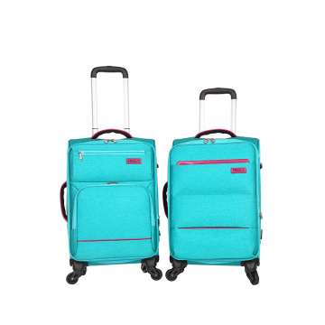 Oxford Fabric Aluminium Troli Travel Bagasi