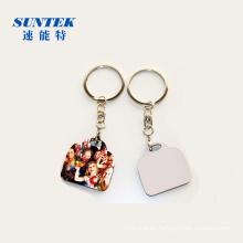China Blank MDF Keychain/Keyring for Sublimation Printing