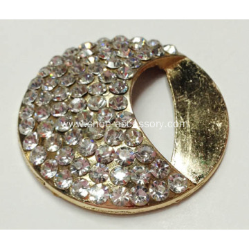 Sparking Alloy Rhinestone Buckle for Clothes, Shoes, Bags Ornaments
